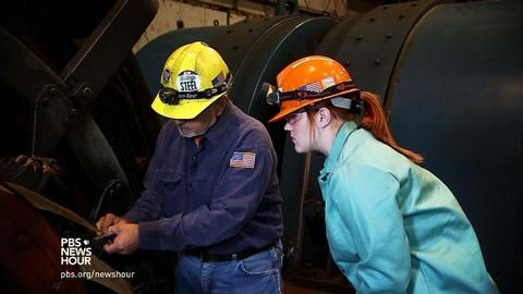 PBS NewsHour -- Cleveland program trains steelworkers of tomorrow