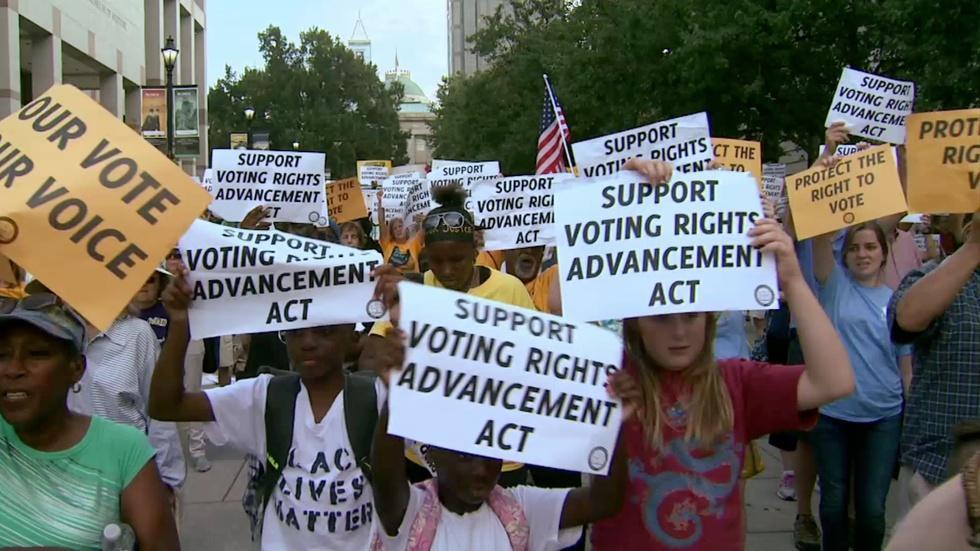 Inside North Carolina's battle over voter ID laws image
