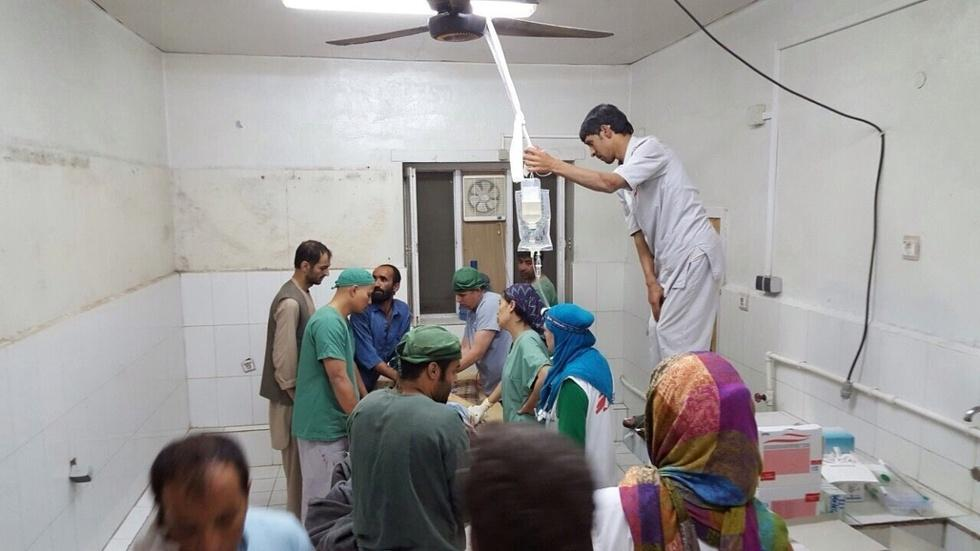 Airstrike hits Doctors Without Borders hospital image