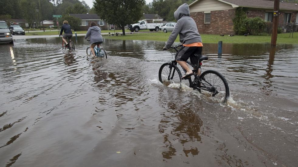 Historic flooding inundates South Carolina image