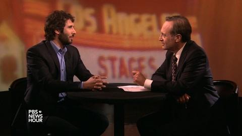 PBS NewsHour -- Josh Groban indulges his inner theater geek with 'Stages'