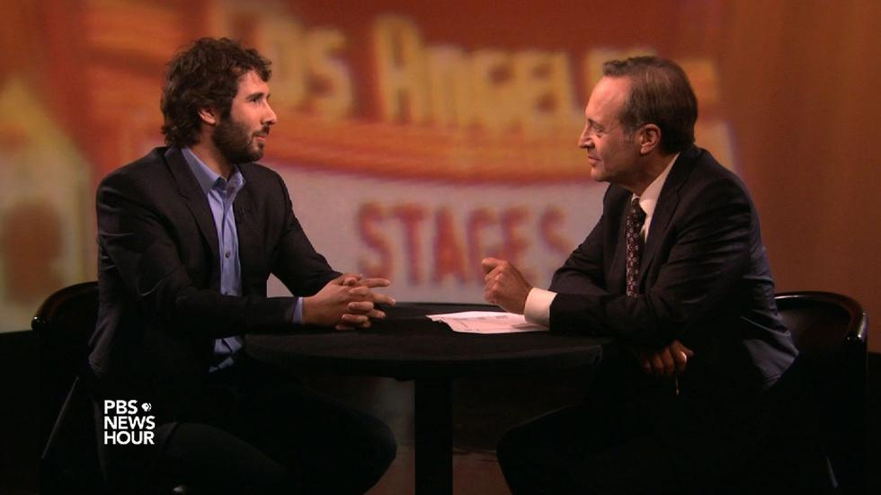 Josh Groban indulges his inner theater geek with 'Stages' image