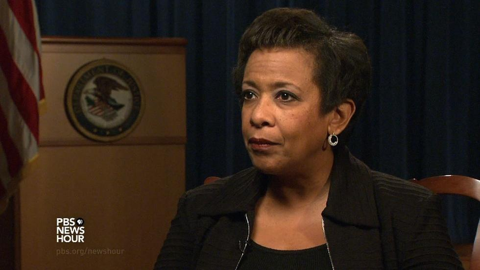 Lynch: U.S. at a unique time in history for justice reform image