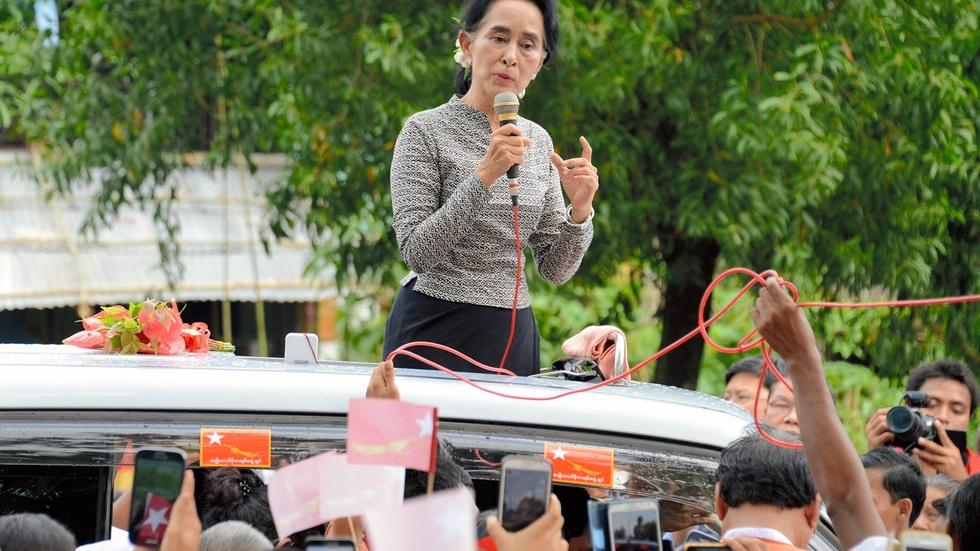 Inside the charge for change toward democracy in Myanmar image