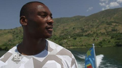 PBS NewsHour -- NBA's Bismack Biyombo goes home to Congo to help