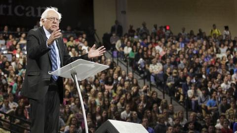 PBS NewsHour -- How Sanders, O'Malley will try to stand out in the debate