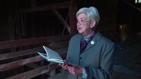 PBS NewsHour -- Ellen Bryant Voigt reads 'Geese'