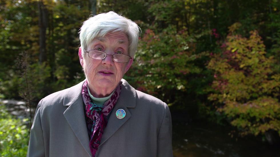 Ellen Bryant Voigt reads 'Storm' image