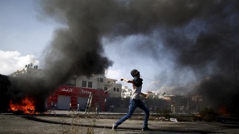 PBS NewsHour -- Palestinian fury fuels random attacks and skirmishes