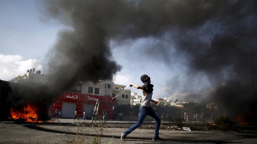 Palestinian fury fuels random attacks and skirmishes image