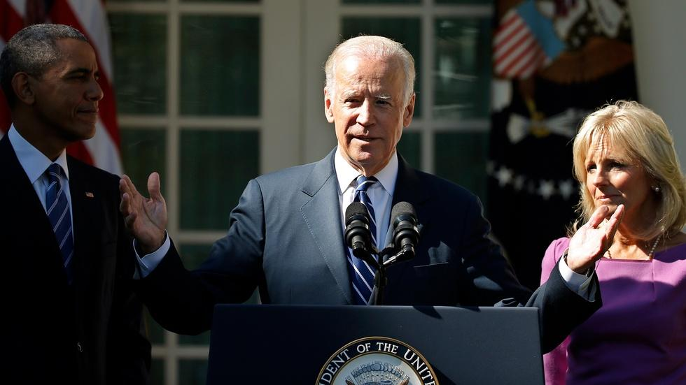 Why Biden's 2016 campaign window has closed image