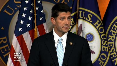 PBS NewsHour -- Will House Republicans line up behind Paul Ryan?