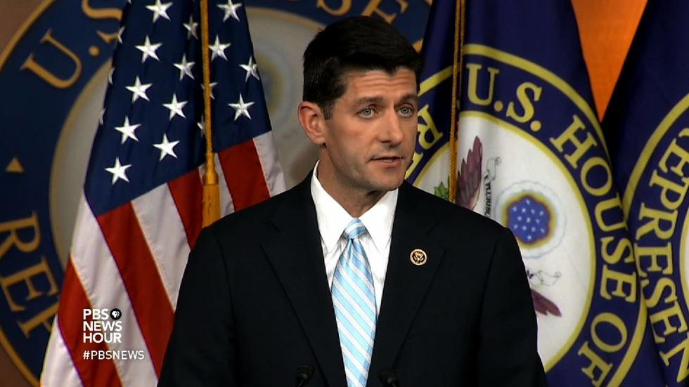 Will House Republicans line up behind Paul Ryan? image