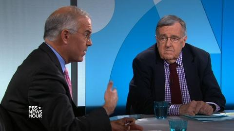 PBS NewsHour -- Shields and Brooks on Clinton's Benghazi testimony
