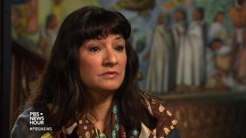 PBS NewsHour -- Sandra Cisneros looks back as a writer in search of home
