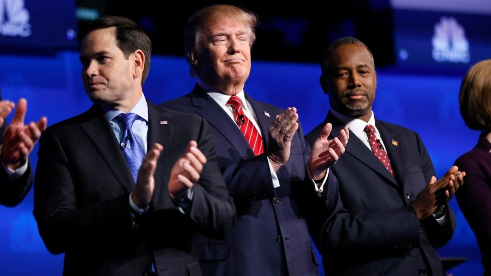 2 false claims and a truth from the GOP debate in Boulder image