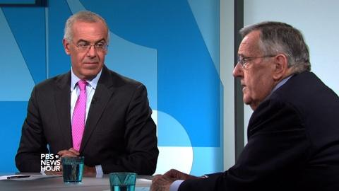PBS NewsHour -- Shields and Brooks on shifting strategy in Syria