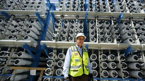 PBS NewsHour -- Is desalination the future of drought relief in California?