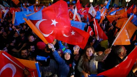 PBS NewsHour -- How did Turkey's ruling party pull ahead in the elections?