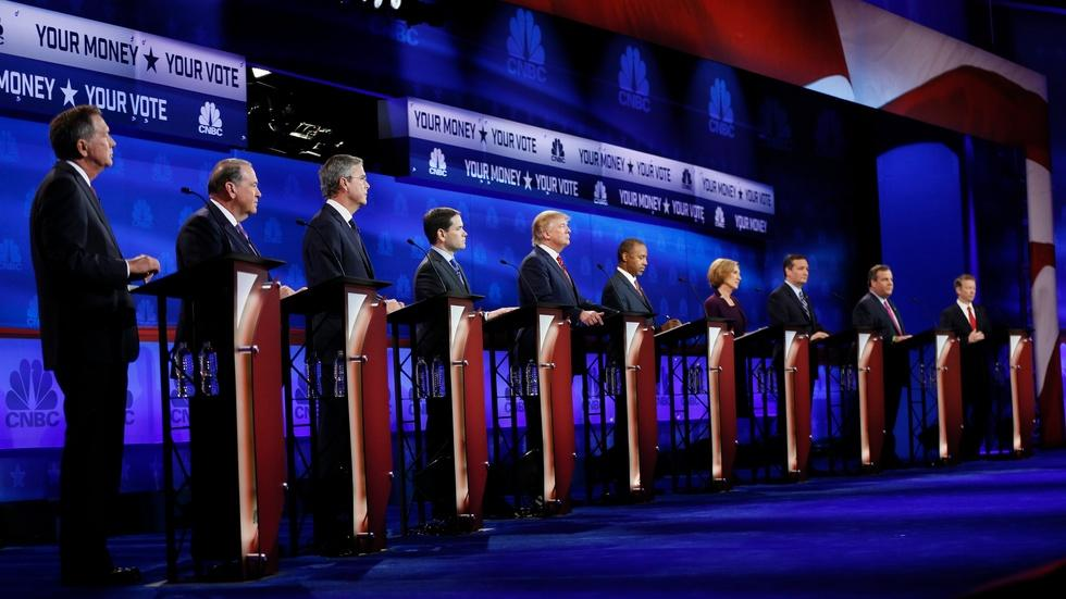 Why different GOP candidates have different debate demands image