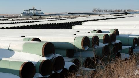 PBS NewsHour -- TransCanada delay request adds uncertainty to outcome
