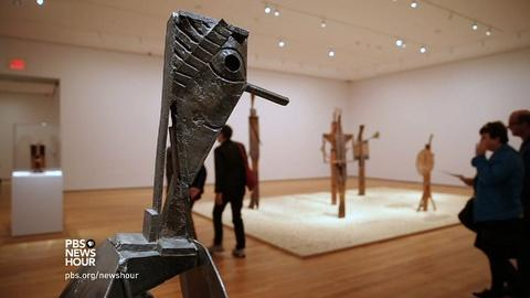 PBS NewsHour -- How Picasso overturned the rules of sculpture