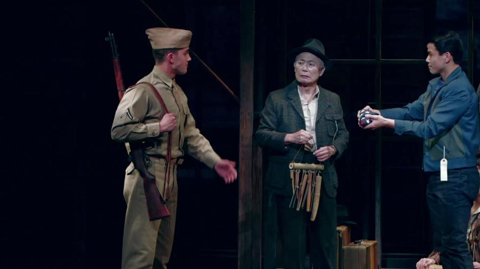 'Allegiance' recounts story of Japanese-American internment image