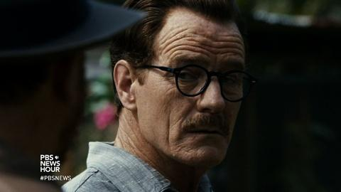 PBS NewsHour -- Bryan Cranston on the lesson of 'Trumbo'