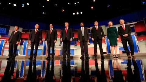 PBS NewsHour -- GOP presidential candidates come out divided on immigration