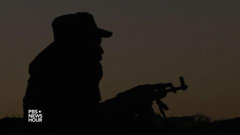 PBS NewsHour -- News Wrap: Kurdish forces drive Islamic State out of Sinjar