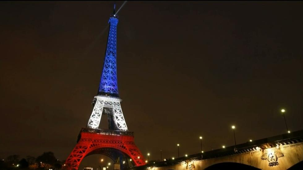In a time of darkness, world stands with the City of Light image
