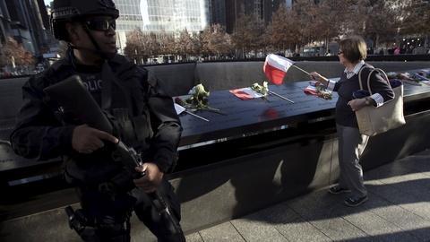 PBS NewsHour -- EU, U.S. face vulnerabilities after IS attacks in Paris