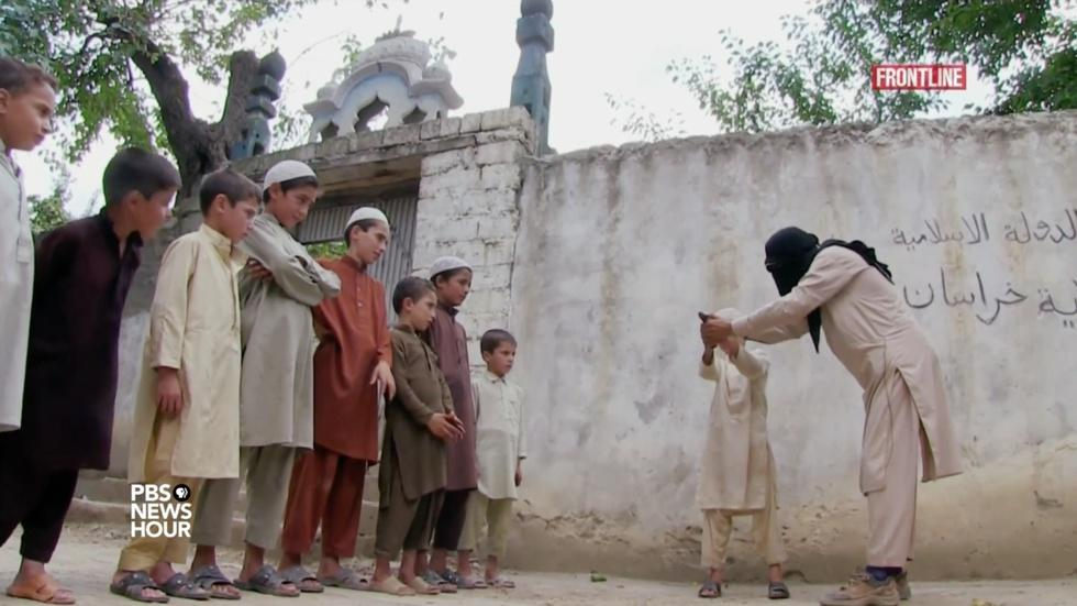 How the Islamic State indoctrinates Afghan children image