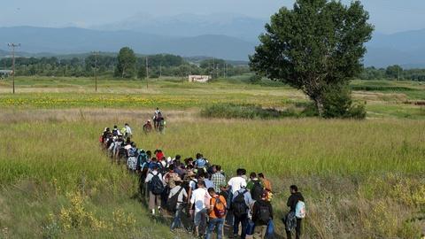 PBS NewsHour -- News Wrap: Four EU countries to turn away economic migrants