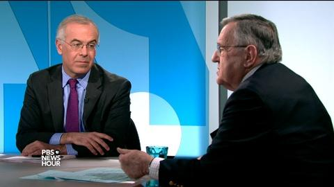 PBS NewsHour -- Shields and Brooks on how Paris changed the political debate
