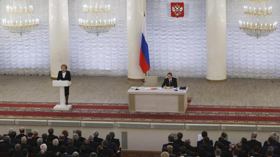 News Wrap: Russian lawmakers back national security overhaul image