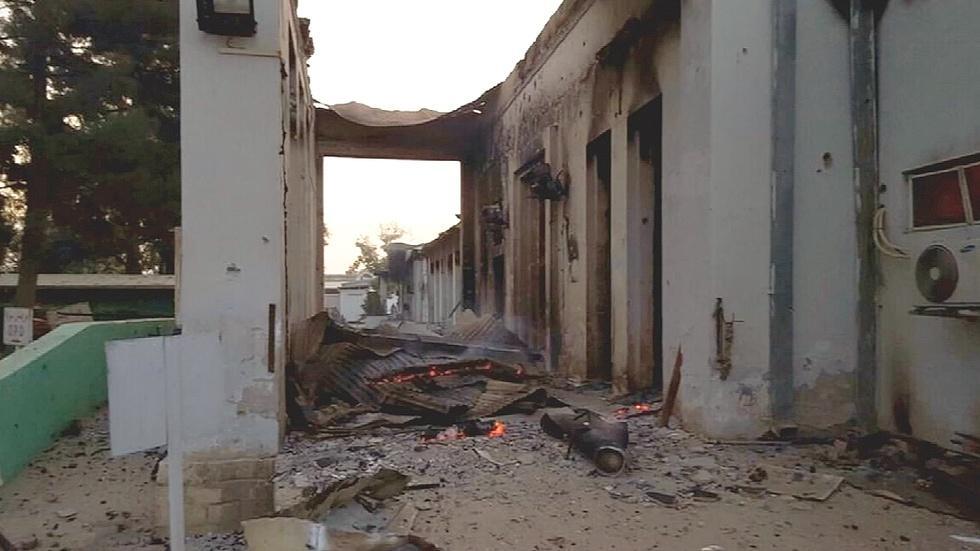 'Human error' led to U.S. forces striking Afghan hospital image