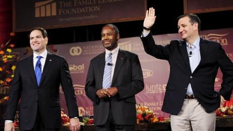 PBS NewsHour -- GOP 2016 candidates face critical moment as field tightens