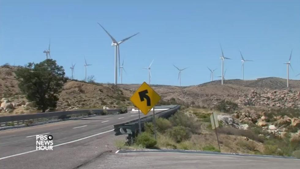 Mexican wind farm sending power to U.S. comes under fire image