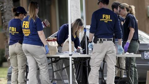 PBS NewsHour -- The terrorism question looming over San Bernardino