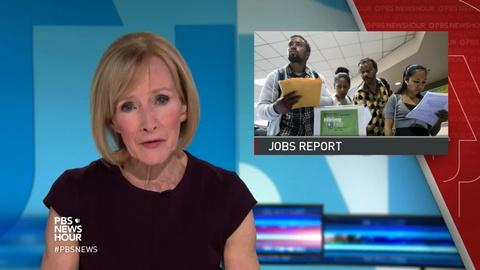 PBS NewsHour -- News Wrap: U.S. economy turns in solid November jobs numbers