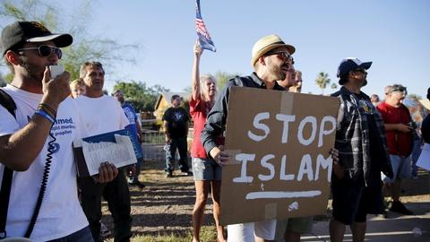 PBS NewsHour -- American Muslims feel singled out amid a climate of fear