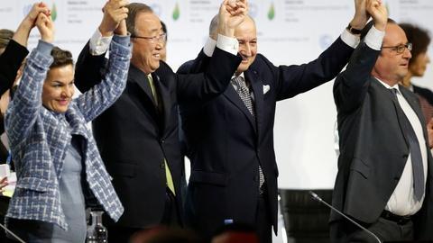 PBS NewsHour -- Paris summit ends with major climate blueprint