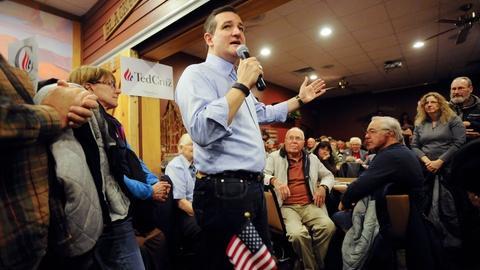 PBS NewsHour -- What's behind the Ted Cruz surge?