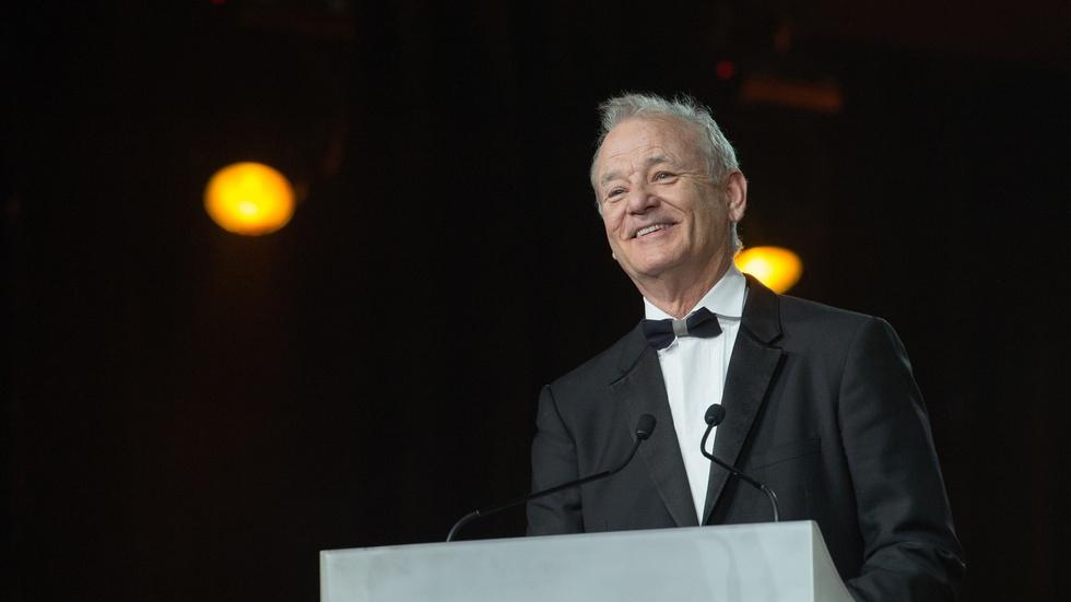 Why Bill Murray gets up to recite poetry every year image