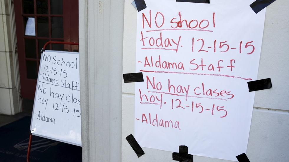 Terror threat shuts down schools across Los Angeles image