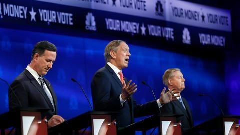 PBS NewsHour -- National security focus puts GOP establishment in spotlight