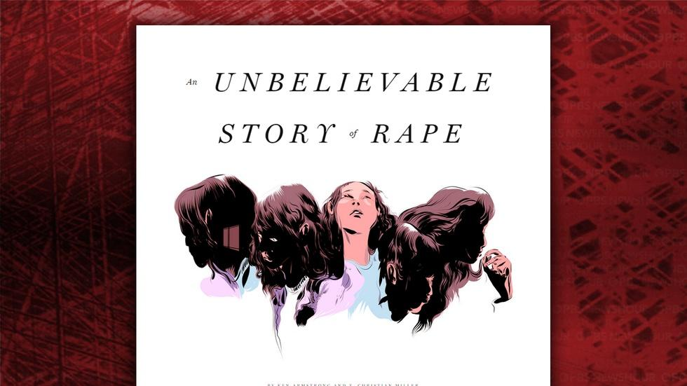 Why was a rape victim interrogated as a crime suspect? image