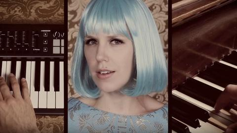 PBS NewsHour -- Music duo Pomplamoose take DIY to the next level