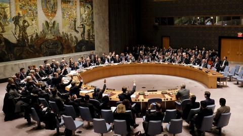 PBS NewsHour -- Assad future unclear under UN Security Council framework